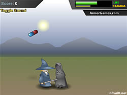 juego Angry Old Wizard