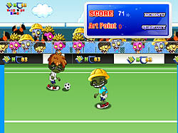 Jogar jogo grátis Zombie Soccer 2