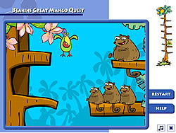 Beakins' Mango Quest game