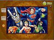 Spin n Set - Super Friends game