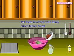 Turkey Sandwish game