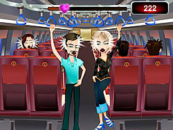 Train Kissing game