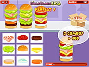 Play Yummy burgers Game