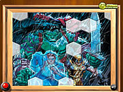 Play Hulk with friends fix my tiles Game