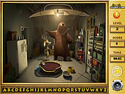 Play Open season find the alphabets Game