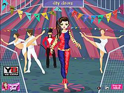Circus Girl Dress Up game