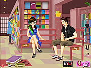 Play Study time dress up Game