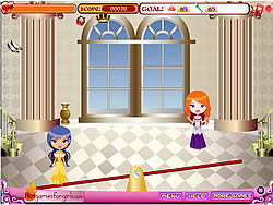 Princess Fashion Catch game
