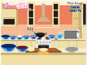 Play Cooking cherry pie Game