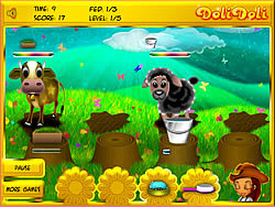Lisa's Farm Animals game
