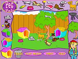 Pet Pals game