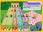 Play Doras do together food pyramid Game