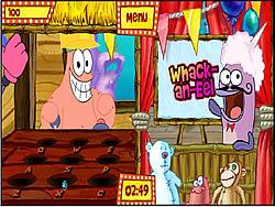 Juega al juego gratis Sponge Bob Square Pants: Bikini Bottom Carnival Part 2