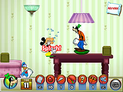 Permainan Mickey And Friends in Pillow Fight