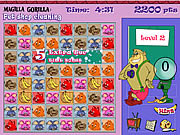 Play Magilla gorilla pet shop cleaning Game