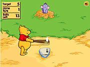 Juega al juego gratis Winnie The Pooh's Home Run Derby