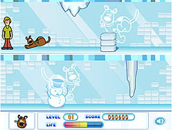 Scooby Doo's Frozen Frights game