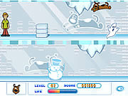 Play Scooby doos frozen frights Game