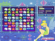 Play Tinkerbells jewel jumble Game