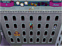 Gaston's Castle Clamor game