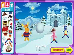 The Backyardigans Adventure Maker oyunu