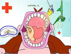 Monkey Dentist game