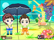Anime Kids Dress Up game