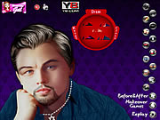 Play Leonardo di caprio celebrity makeover Game