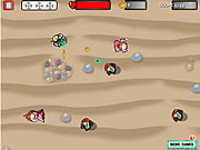 Play Spacemen vs medieval zombies Game