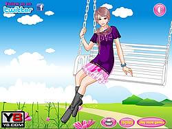 Swing Flying Girl game