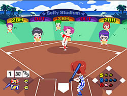 Cartoons Baseball game