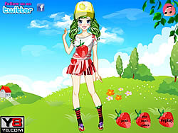 Cute Fruit Doll Dress Up game