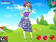 Jouer Cute fruit doll dress up Jeu