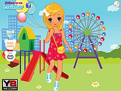 Riesenrad Park Dress Up game