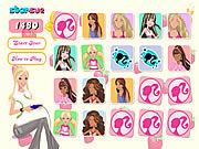 Barbie Memoz game