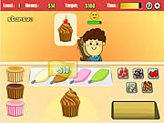 Play Cupcake frenzy Game