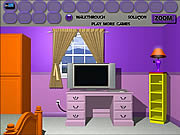 Play Purple room escape Game
