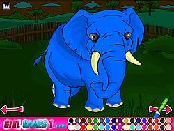เล่นเกมฟรี Zoo Coloring Game