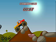 Play Monster wheels Game