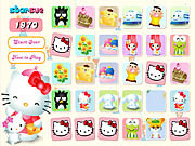A Hello Kitty Memory Game
