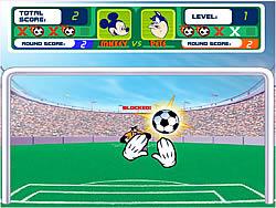 Permainan Mickey's Soccer Fever