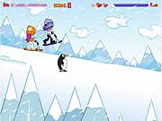 Play Hi hi puppy ami yumi snow scooter Game