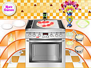 Play Fish pizza cooking Game
