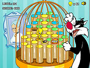 Play Tweetys cage hop Game