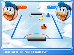 Mickey and Friends Shoot & Score game