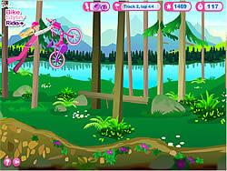 Permainan Barbie Bike Stylin' Ride