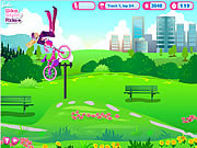 Play Barbie bike stylin ride Game