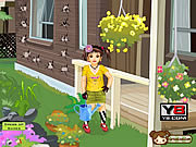 Play Gardening girl Game