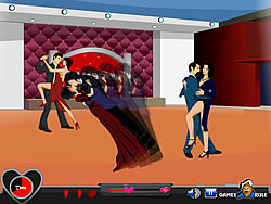 Kiss On Dancing game