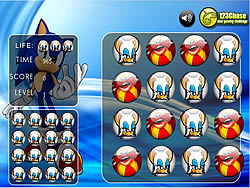 Memory Balls - Sonic game